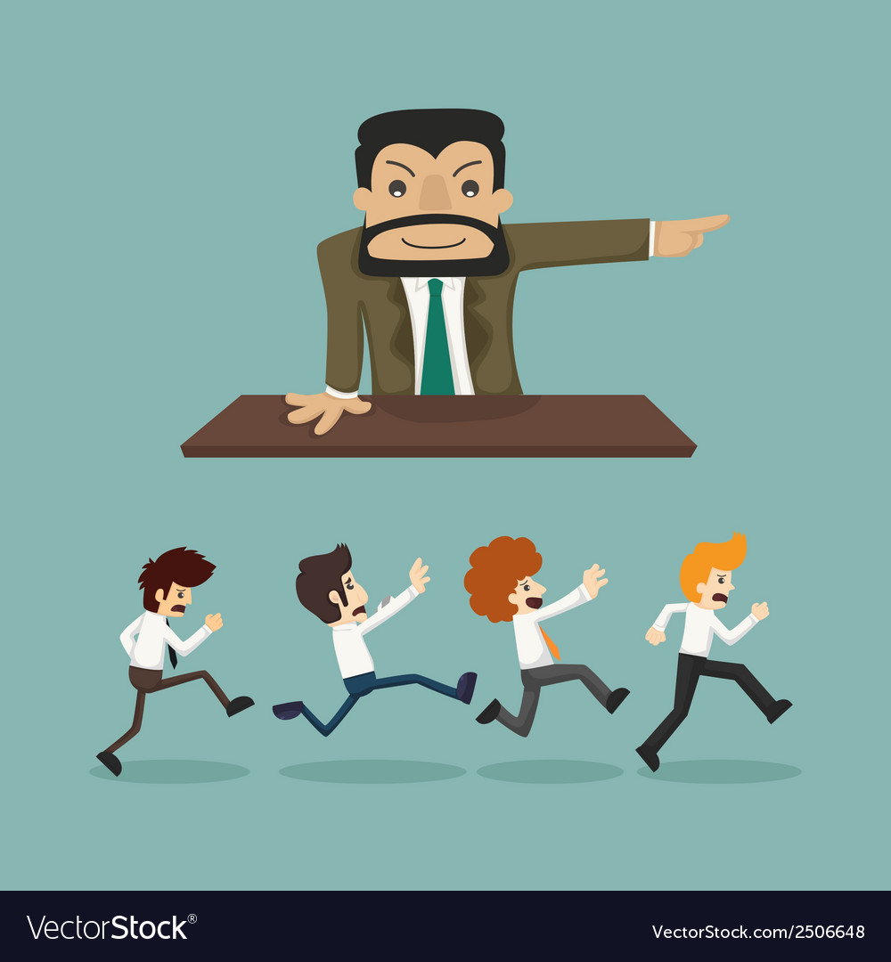 Business man go to work vector | Price: 1 Credit (USD $1)