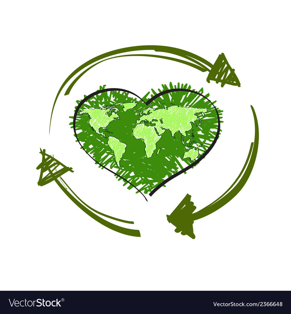 Recycle symbol vector | Price: 1 Credit (USD $1)