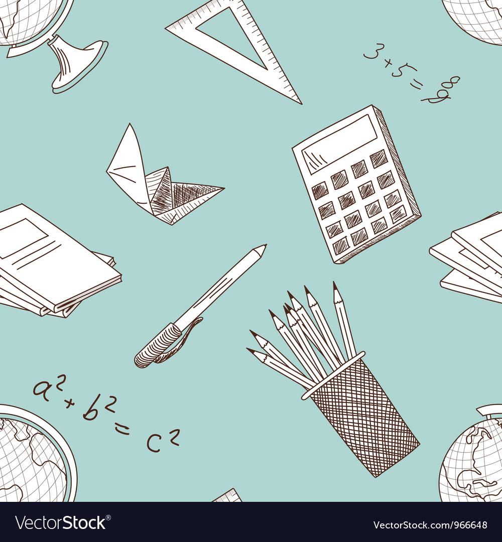 School seamless vector | Price: 1 Credit (USD $1)