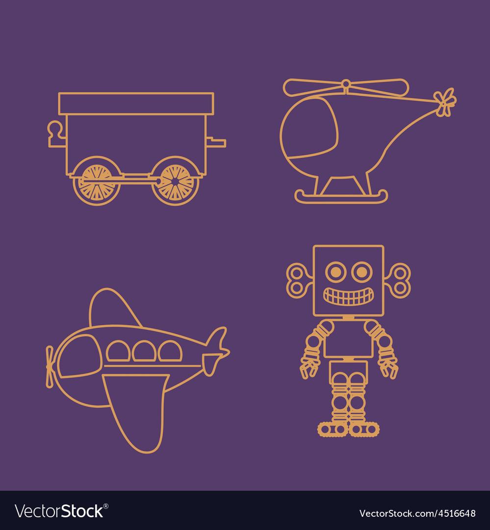 Toys design vector | Price: 1 Credit (USD $1)
