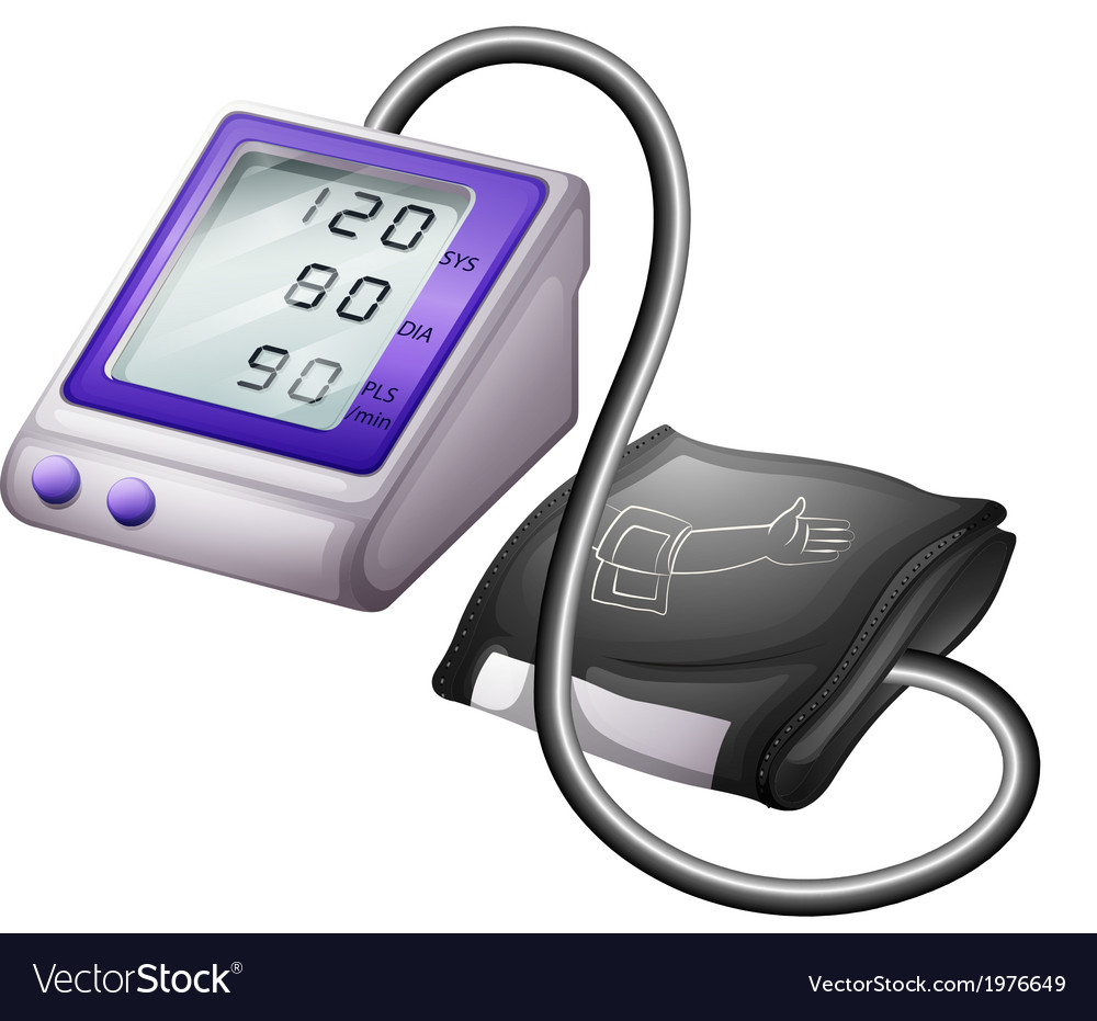 A sphygmomanometer vector | Price: 1 Credit (USD $1)