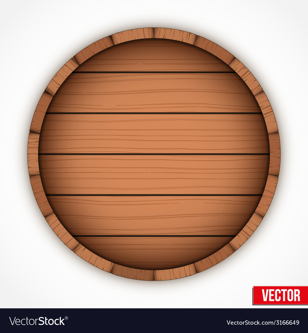 Set of wooden casks for alcohol drinks emblem vector | Price: 1 Credit (USD $1)