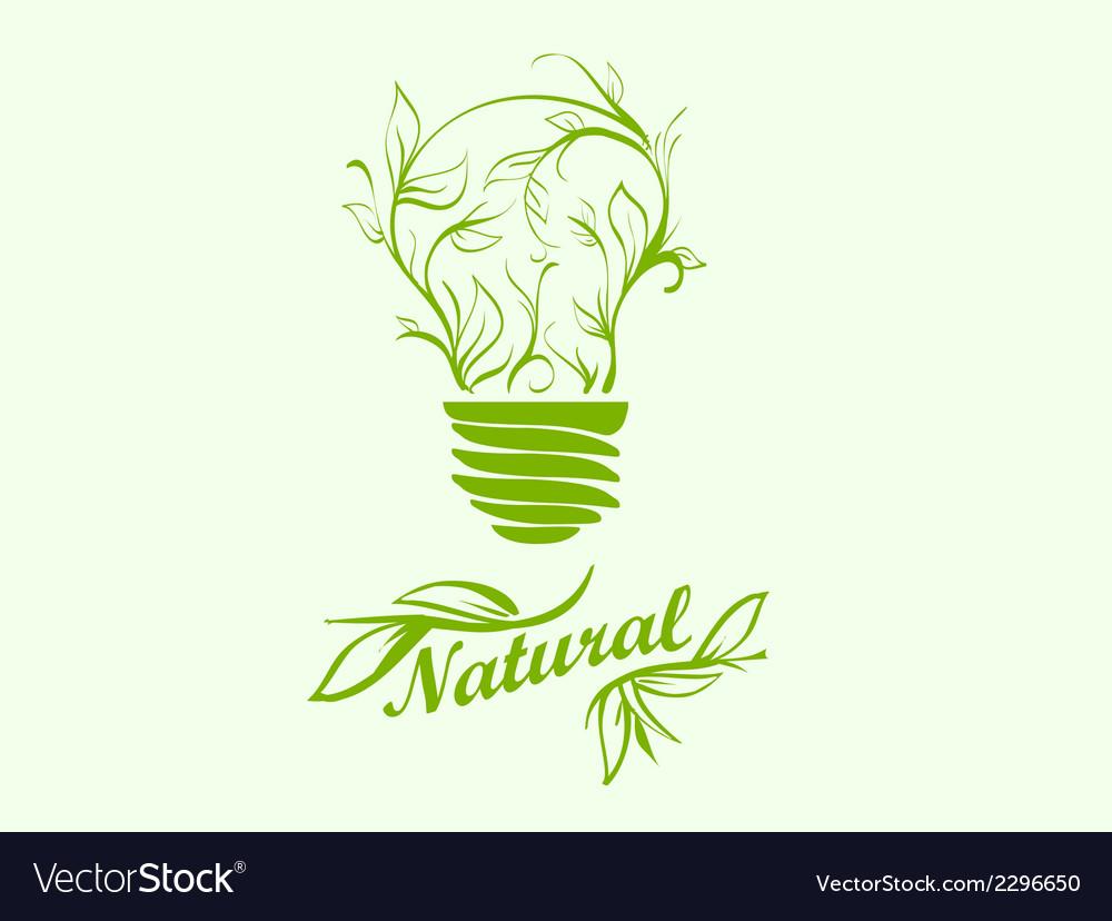 Icon green energy vector   Price: 1 Credit (USD $1)