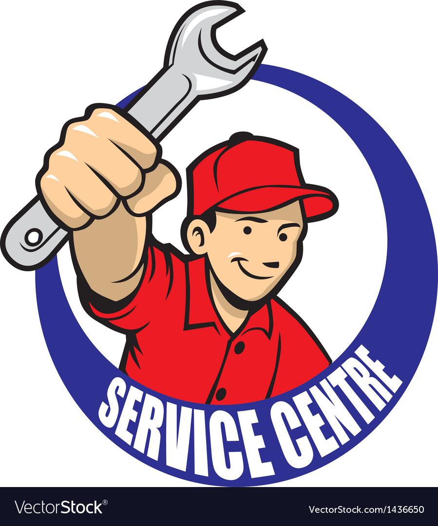 Repair man vector | Price: 1 Credit (USD $1)