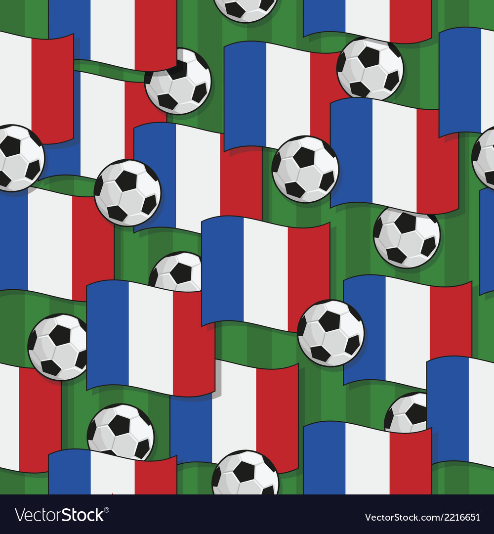 France football pattern vector   Price: 1 Credit (USD $1)