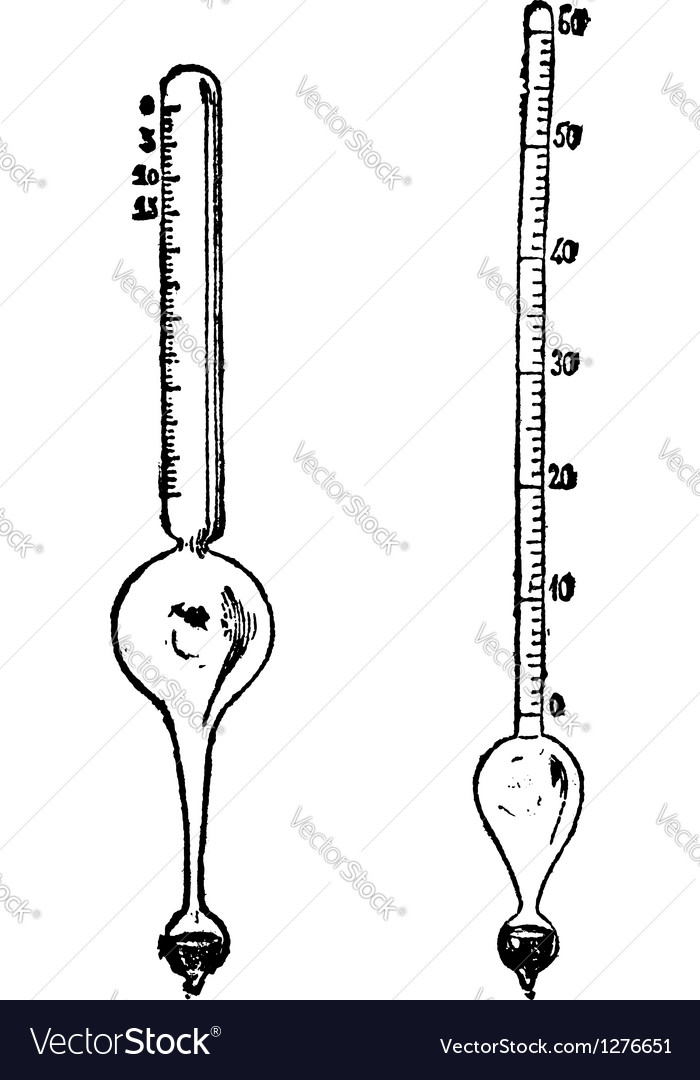 Salinometer alcoholometer vector   Price: 1 Credit (USD $1)