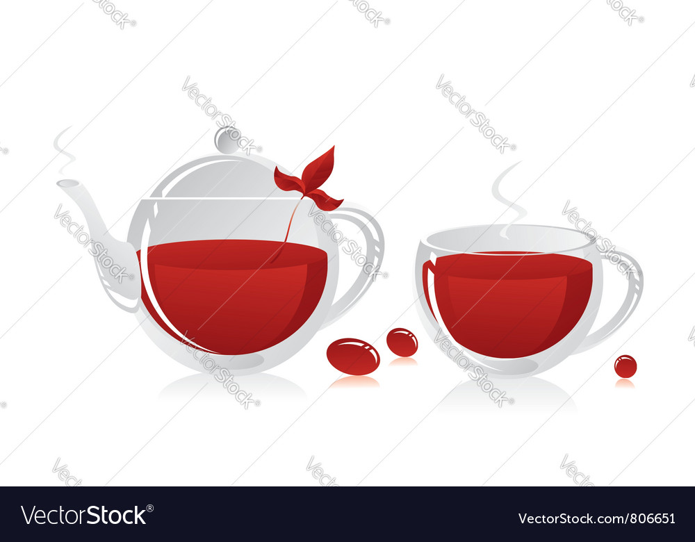 Tea vector | Price: 3 Credit (USD $3)