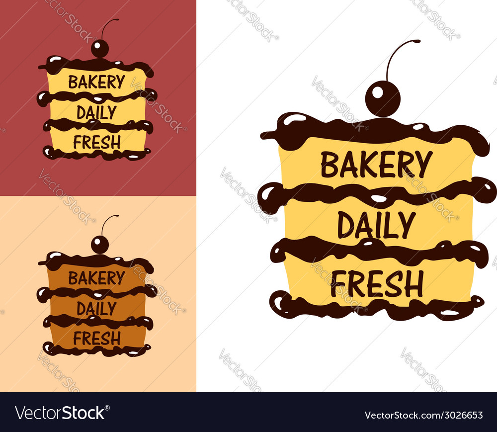 Bakery fresh badge or label vector | Price: 1 Credit (USD $1)
