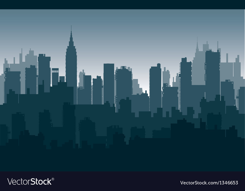 Nightly city3 vector | Price: 1 Credit (USD $1)
