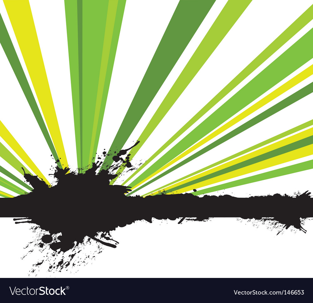 Splash rays vector | Price: 1 Credit (USD $1)