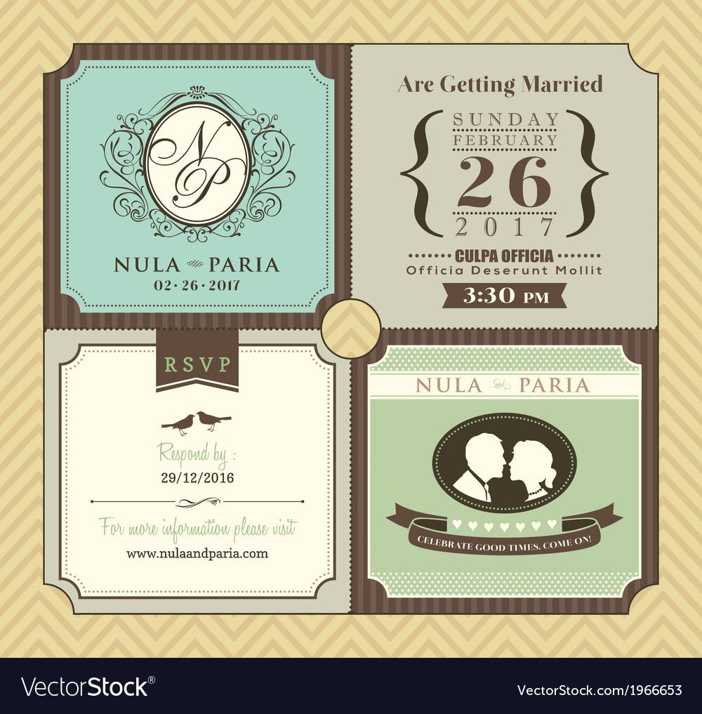 Vintage-boarding-pass-ticket-wedding-invitatation-vector