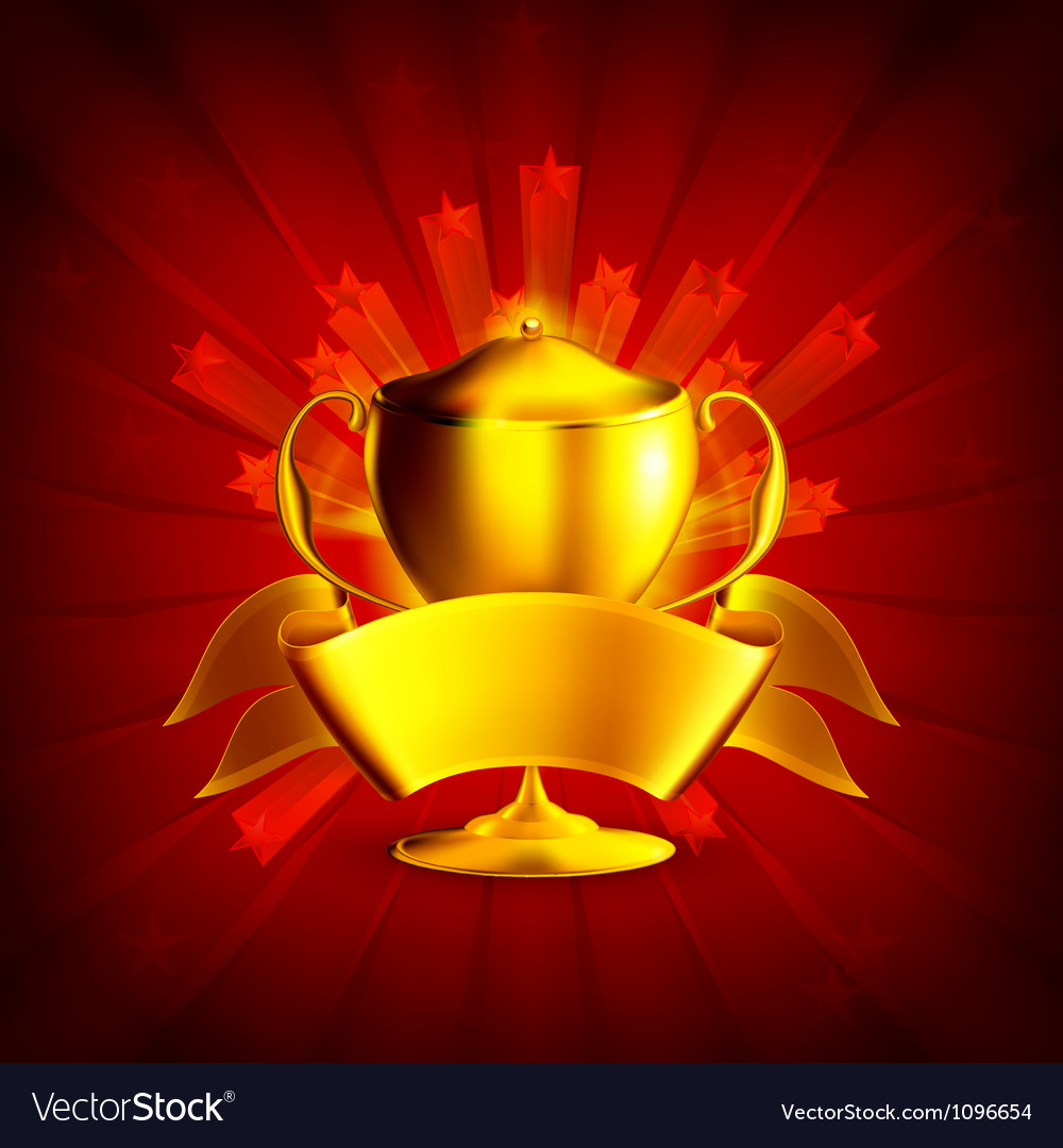 Golden prize background vector | Price: 1 Credit (USD $1)