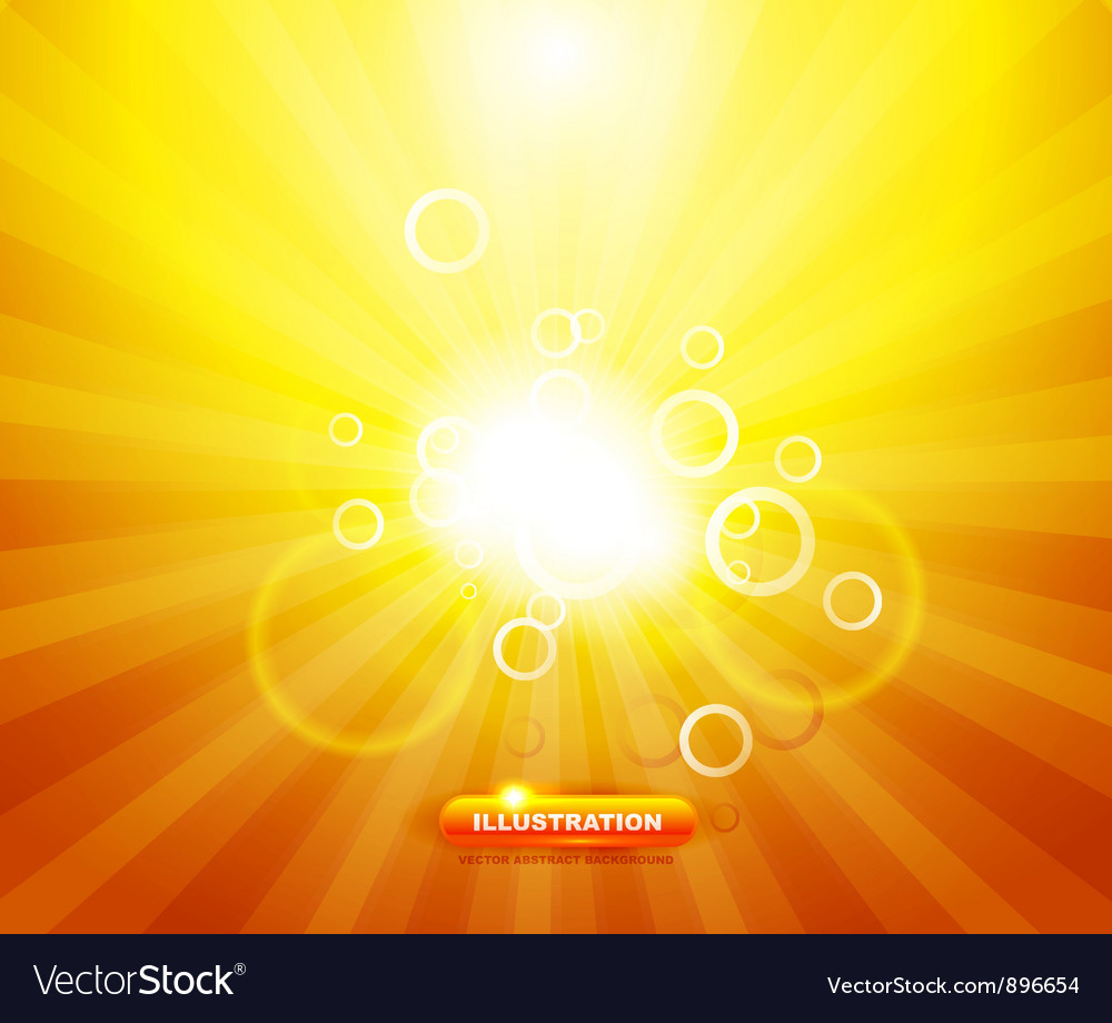 Sunny abstract background vector | Price: 1 Credit (USD $1)