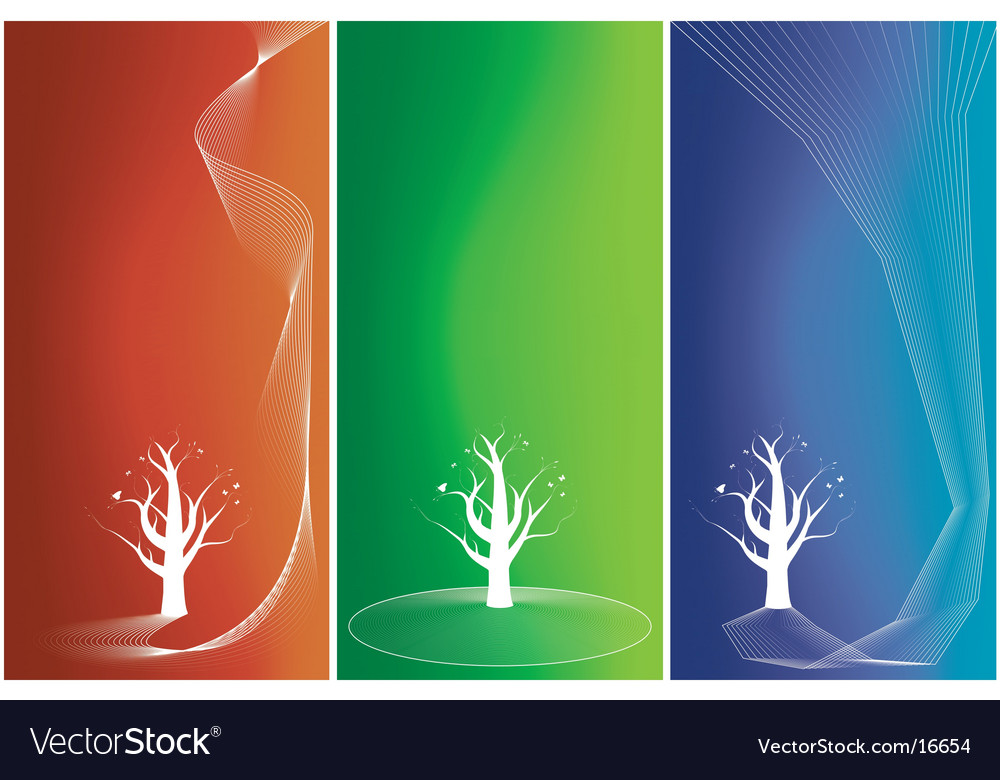 Tree stripes vector | Price: 1 Credit (USD $1)
