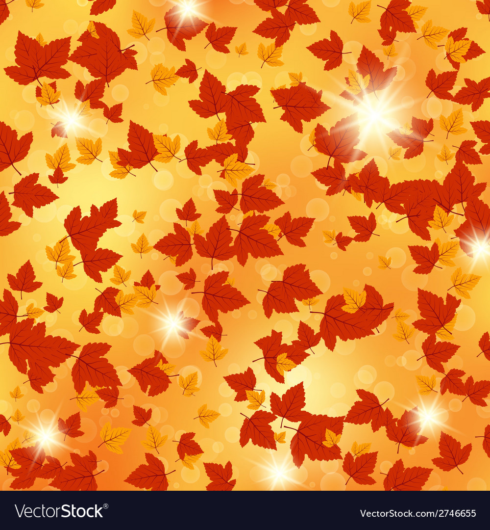 Autumn floral background vector   Price: 1 Credit (USD $1)