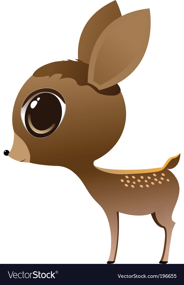 Baby deer vector | Price: 1 Credit (USD $1)