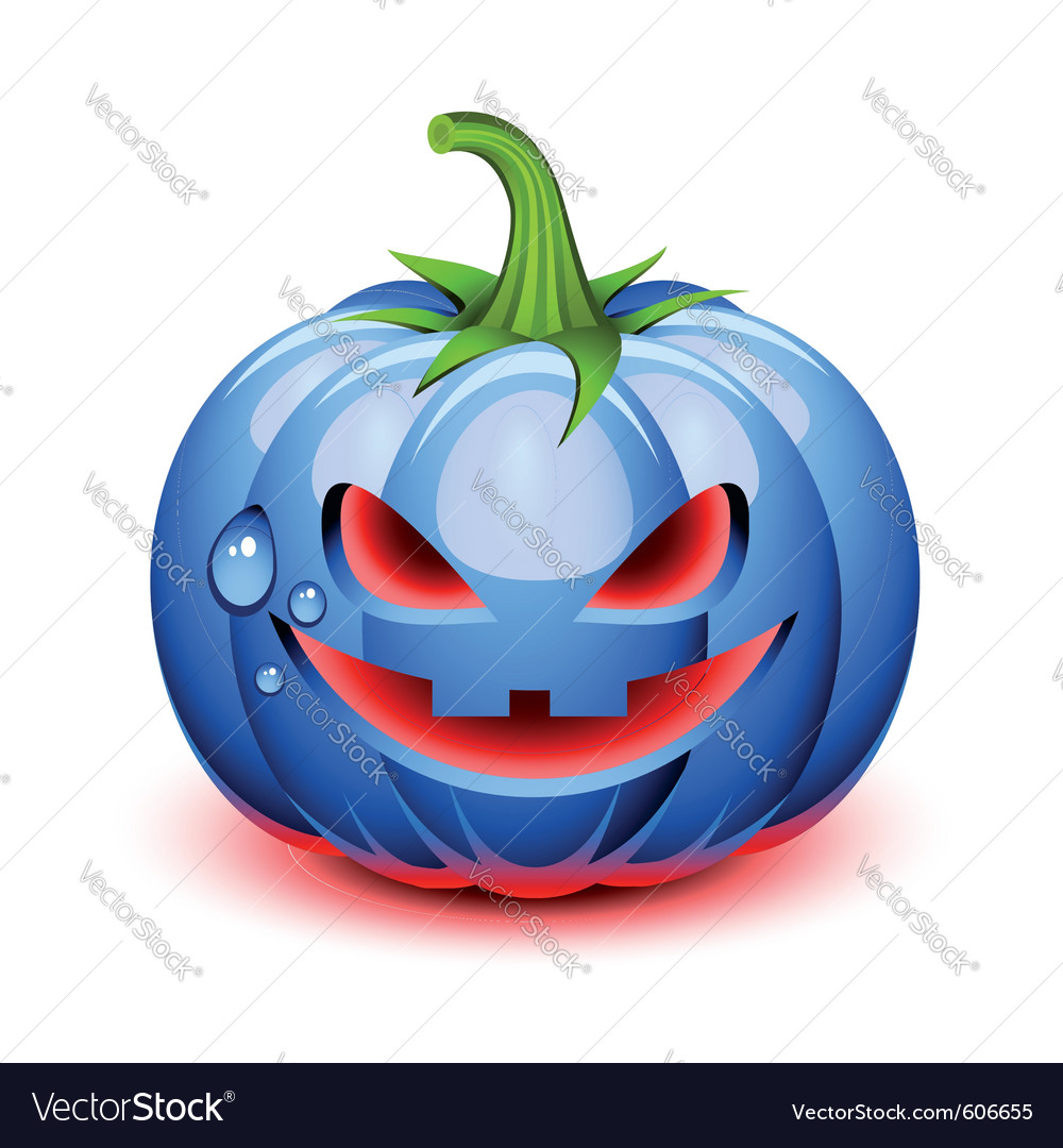 Halloween pumpkin face vector | Price: 3 Credit (USD $3)