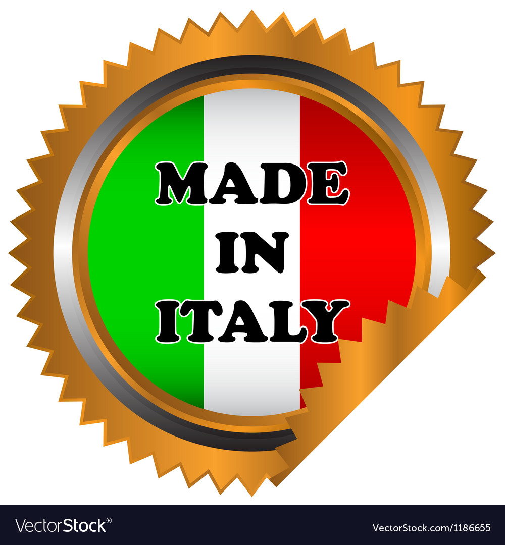 Made in italy icon vector | Price: 1 Credit (USD $1)