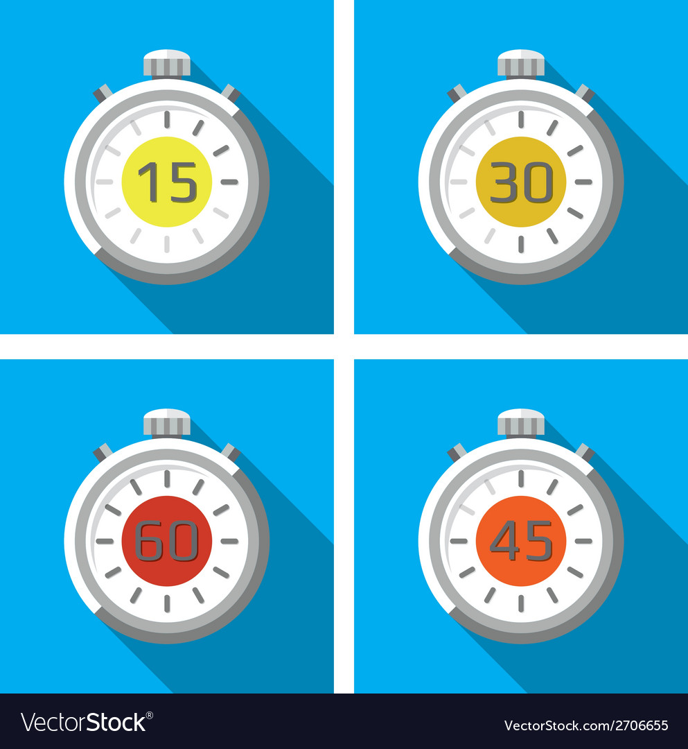 Stopwatches vector | Price: 1 Credit (USD $1)