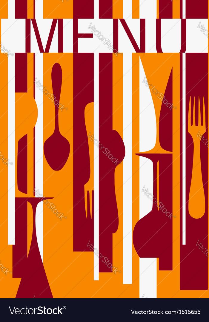 Template of menu background design vector | Price: 1 Credit (USD $1)