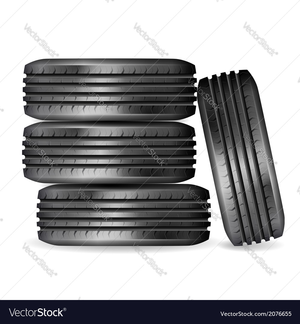 Tires vector | Price: 1 Credit (USD $1)