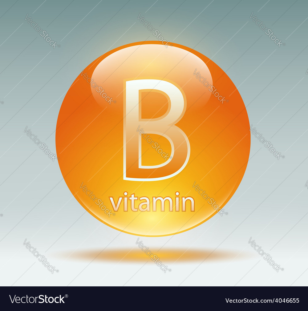 Vitamin b vector | Price: 1 Credit (USD $1)