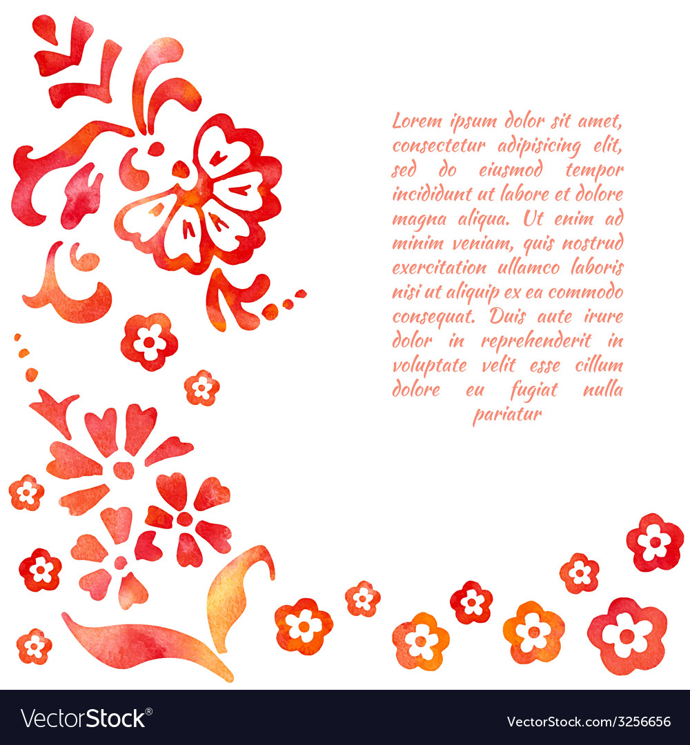 Background of stylized flower vector | Price: 1 Credit (USD $1)