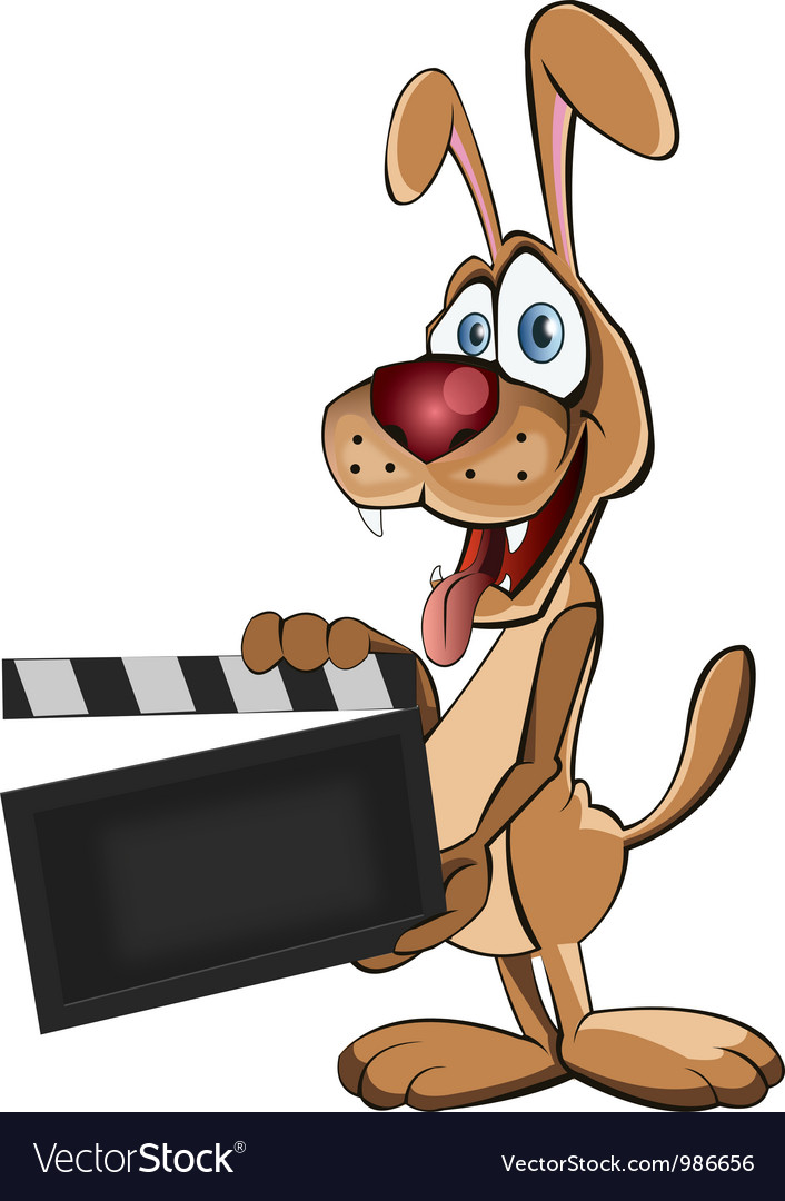 Director dog vector | Price: 3 Credit (USD $3)