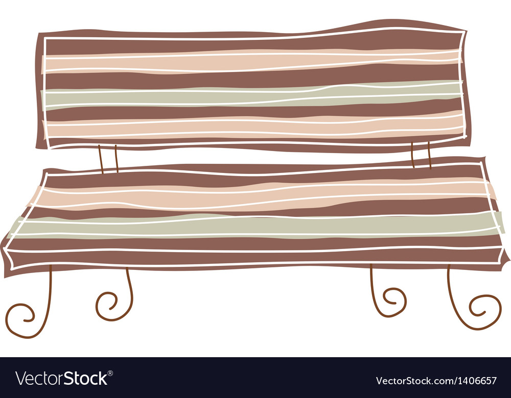 A bench stand on vector   Price: 1 Credit (USD $1)