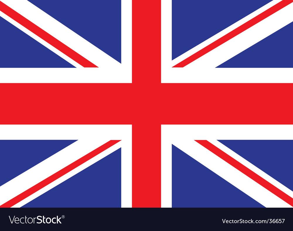 Britain flag vector | Price: 1 Credit (USD $1)