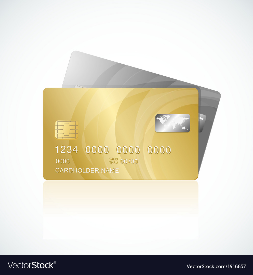 Vip cards gold and silver vector | Price: 1 Credit (USD $1)