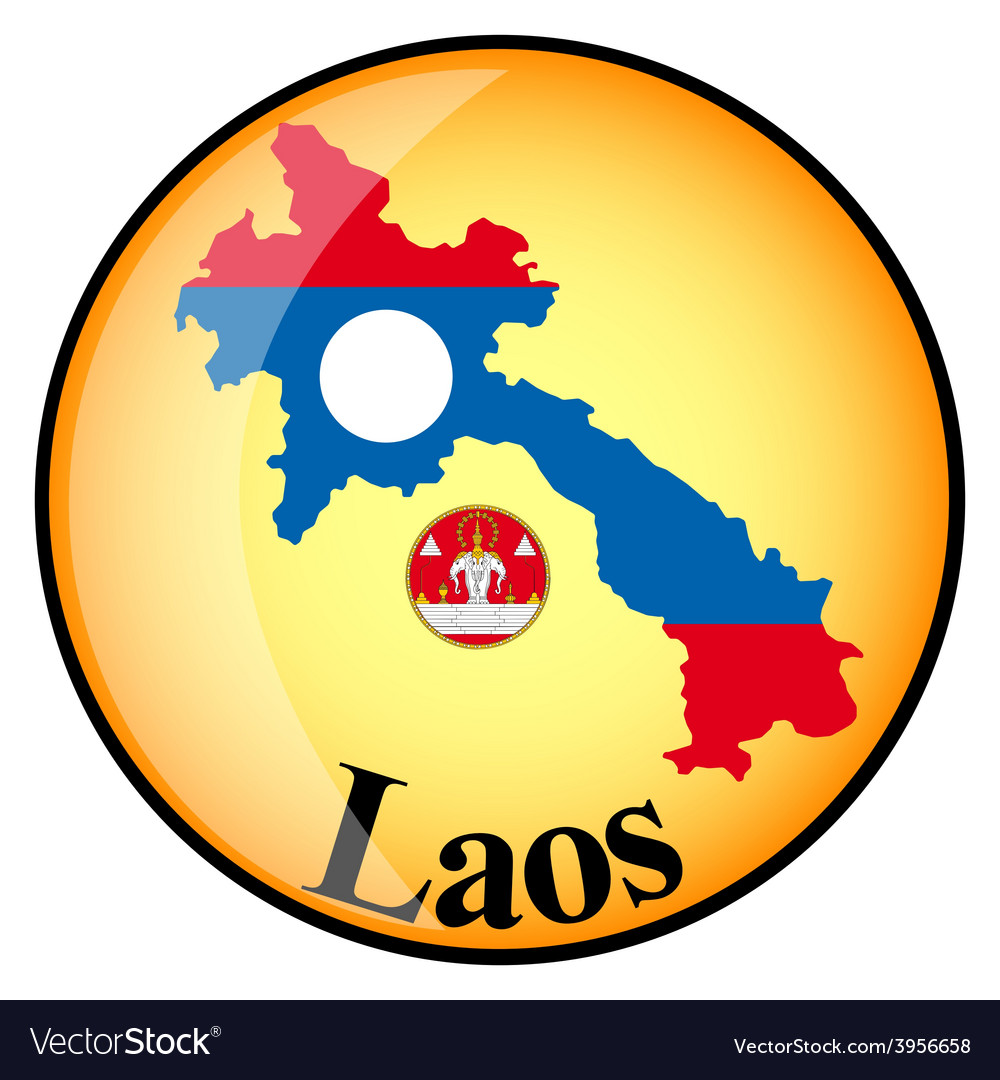 Button laos vector | Price: 1 Credit (USD $1)