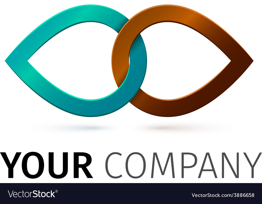 Colorful iinfinity symbol conceptual icon vector | Price: 1 Credit (USD $1)