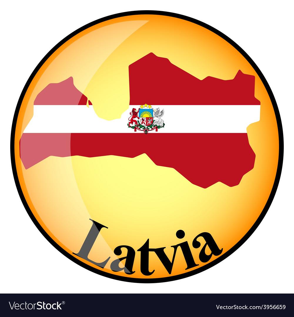 Button latvia vector | Price: 1 Credit (USD $1)