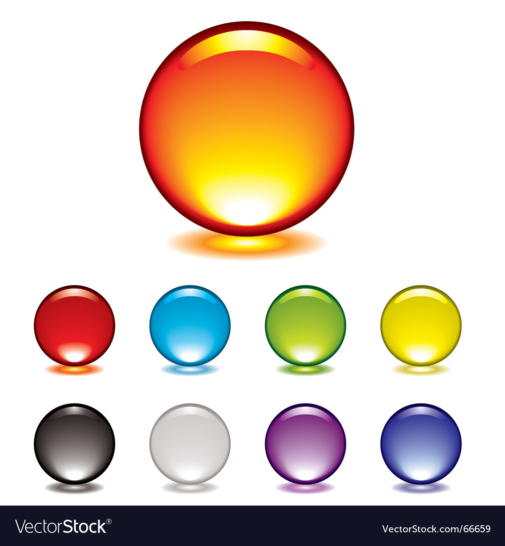 Marble button glow vector   Price: 1 Credit (USD $1)
