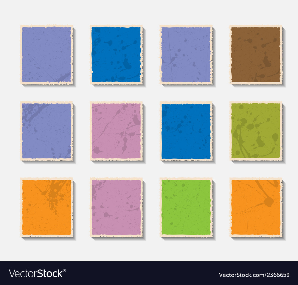 Torn paper set vector | Price: 1 Credit (USD $1)