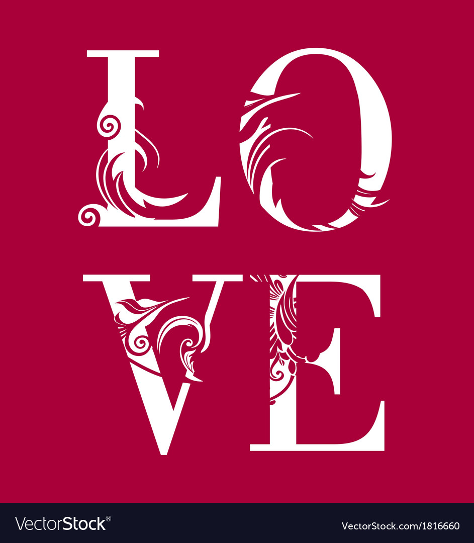 Abstract romantic card image vector | Price: 1 Credit (USD $1)