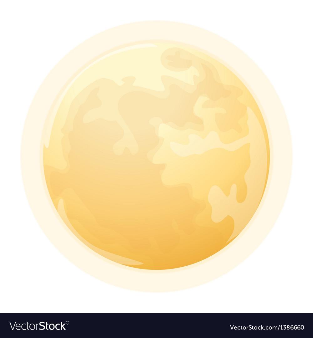 Icon moon vector | Price: 1 Credit (USD $1)