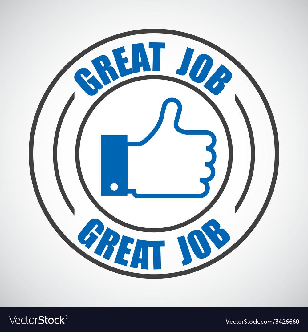 Jobs design vector | Price: 1 Credit (USD $1)