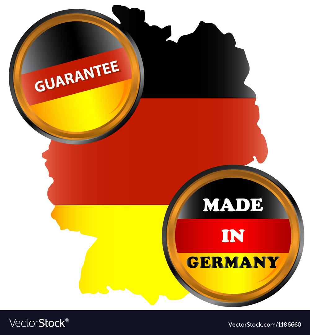 Made in germany icon vector | Price: 1 Credit (USD $1)