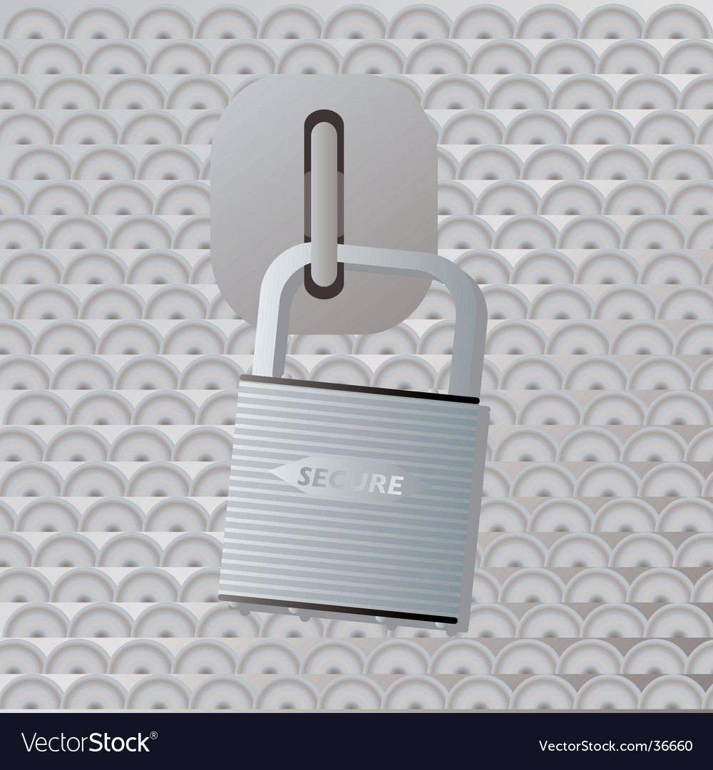 Secure locker vector | Price: 1 Credit (USD $1)