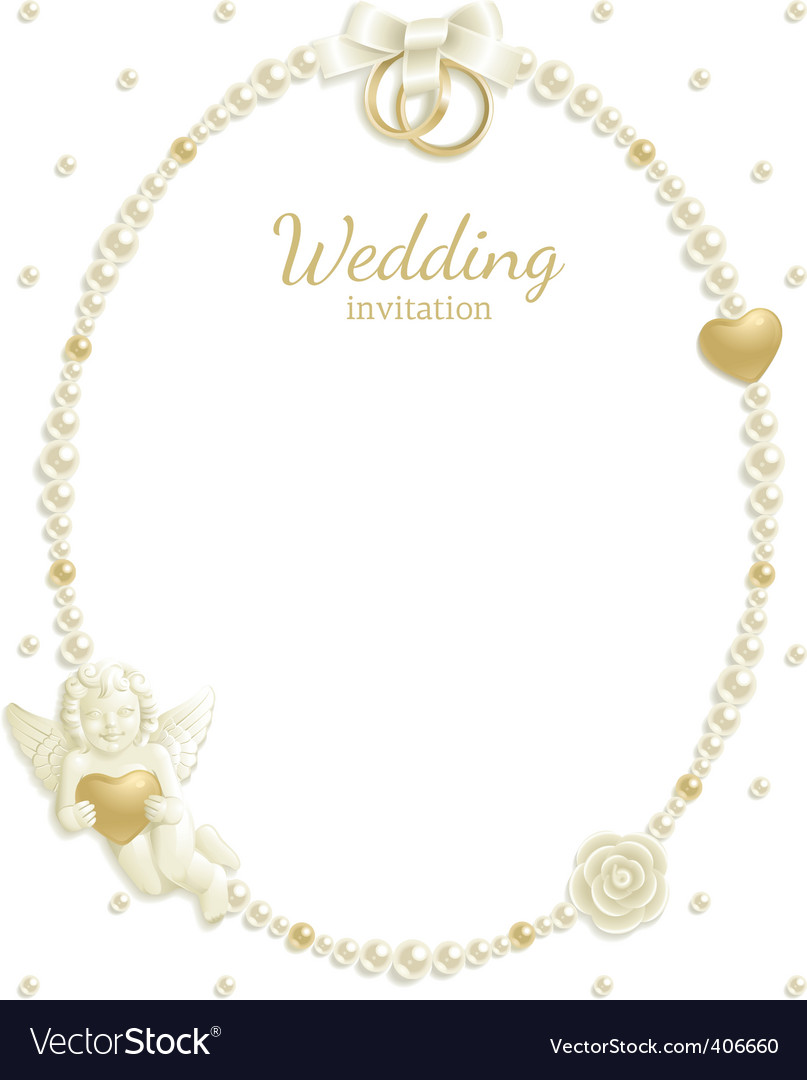 Wedding jewel frame vector | Price: 1 Credit (USD $1)