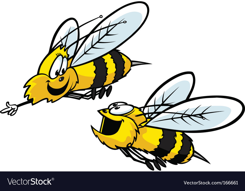 Bumble bees vector | Price: 1 Credit (USD $1)