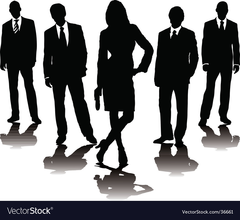 Business stance vector | Price: 1 Credit (USD $1)