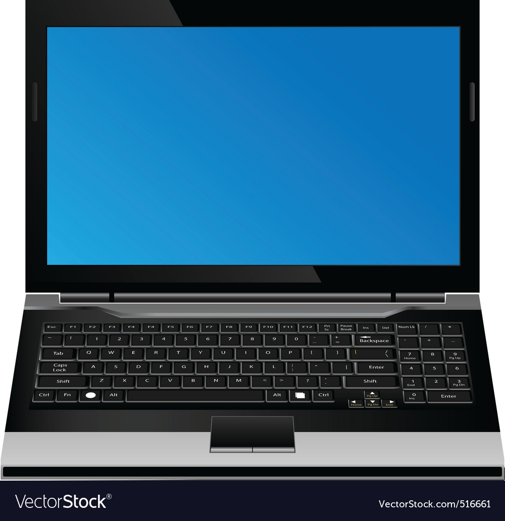 computer vector format vector | Price: 1 Credit (USD $1)