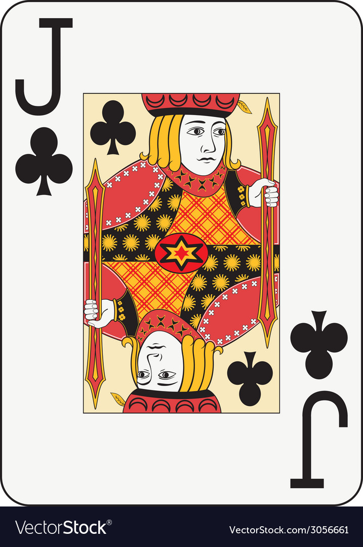 Jumbo index jack of clubs vector | Price: 1 Credit (USD $1)