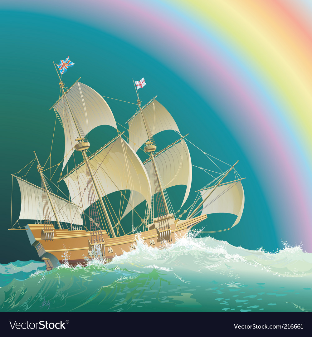Mayflower vector | Price: 5 Credit (USD $5)