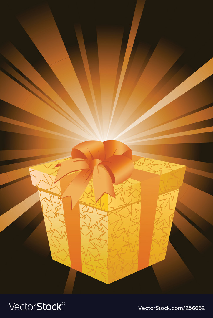Surprise gift vector | Price: 1 Credit (USD $1)