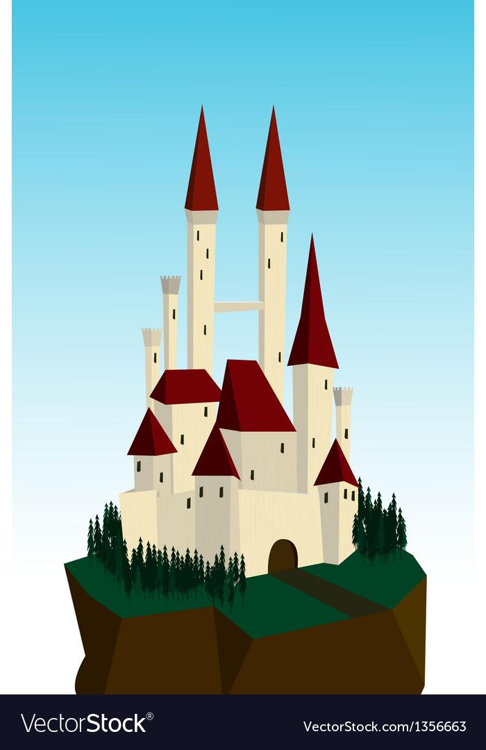 White castle vector | Price: 1 Credit (USD $1)