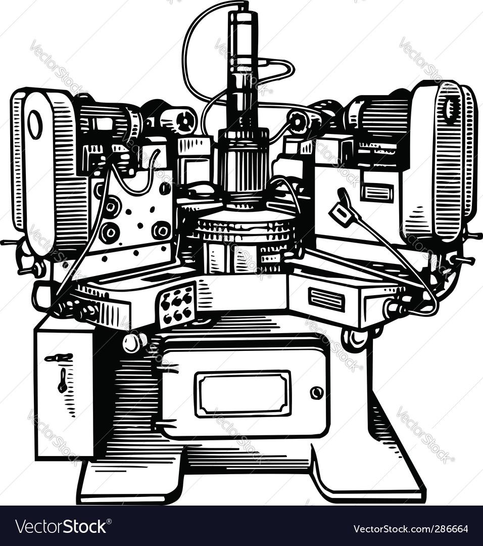 Machine tool vector   Price: 1 Credit (USD $1)
